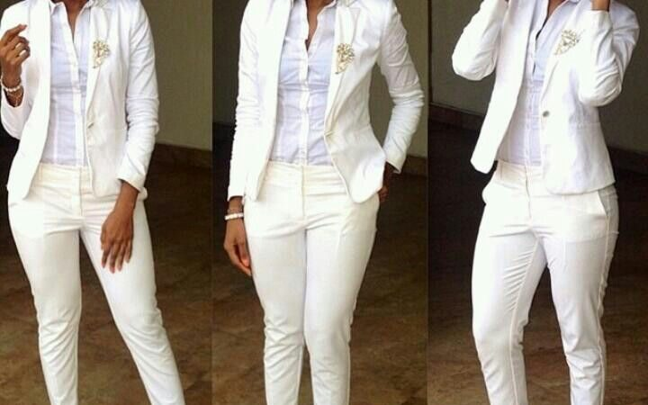 Ladies, Check Out These 5 FABULOUS WAYS TO ROCK YOUR SUITS (PHOTOS)