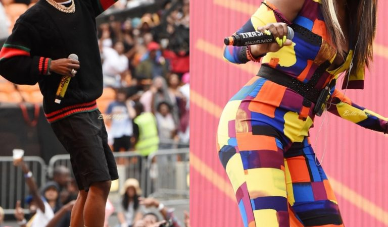 Wizkid, Tiwa Savage, D'Banj & Femi Kuti Put on a Show at 2018 #GlobalCitizenFestival in South Africa!