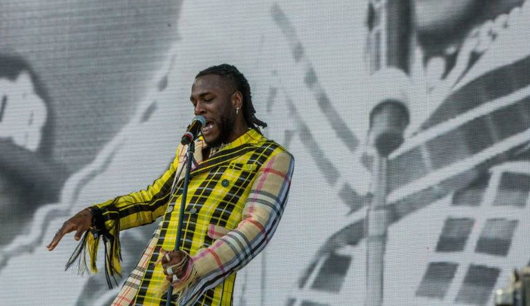 Watch Burna Boy's Coachella 2019 Performance