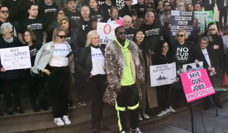 'Love and Hip Hop' Star Safaree Leads Protest of NYC Fur Sales Ban