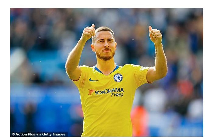 Heartbreak for Chelsea fans as Real Madrid plans to 'officially announce £86m signing of Hazard after Europa League final'