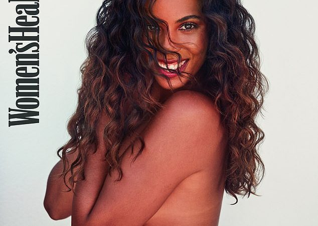 TV presenter Rochelle Humes poses completely naked as she covers Women's Health UK magazine (18+Photos)