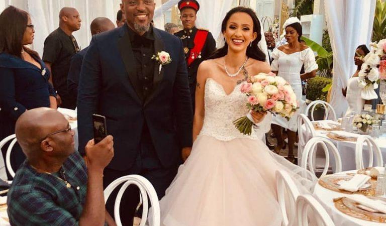 Ex husband of International model, Ojy Okpe remarries