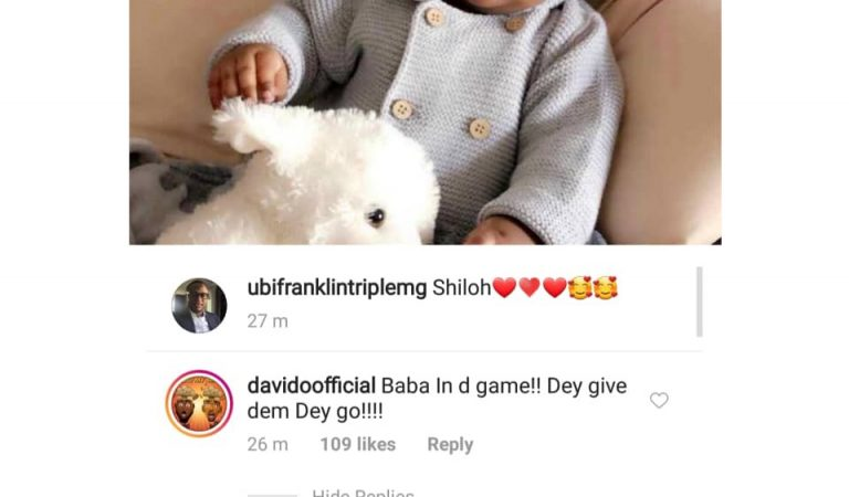 Ubi Franklin says he's done impregnating women after Davido hailed him for welcoming another child