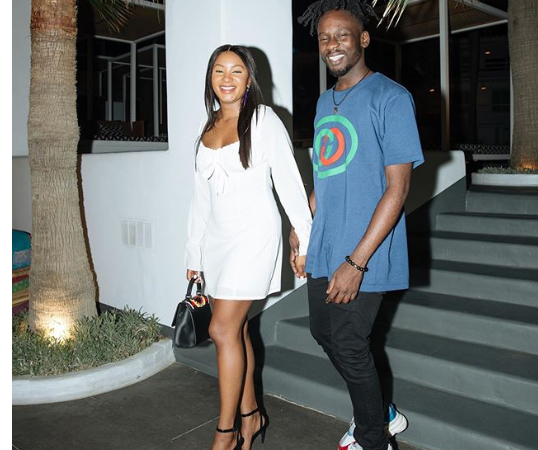 Mr.Eazi and his hot boo Temi Otedola step out for a date in Mikonos