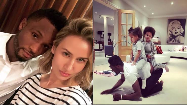 Mikel Obi's daughters plan his wedding to their mother in hilarious video