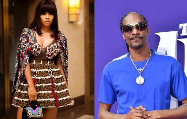 Toke Makinwa calls out Snoop Dogg over his 'I Suffer Pass' mentality but we think her view is subjective