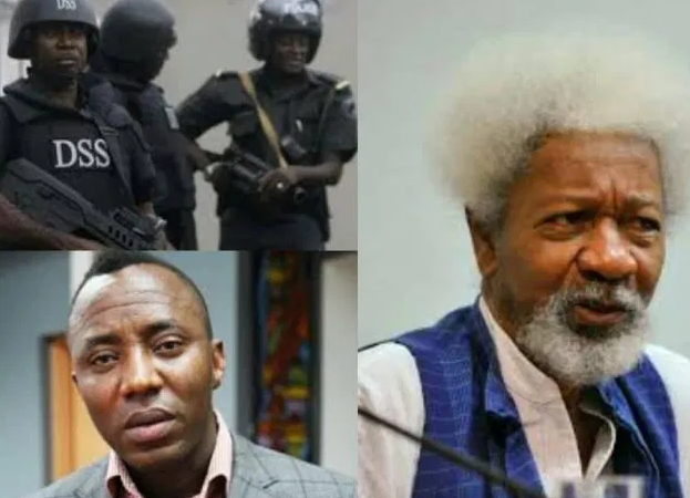DSS must stop display of naked power and release Sowore now –  Wole Soyinka