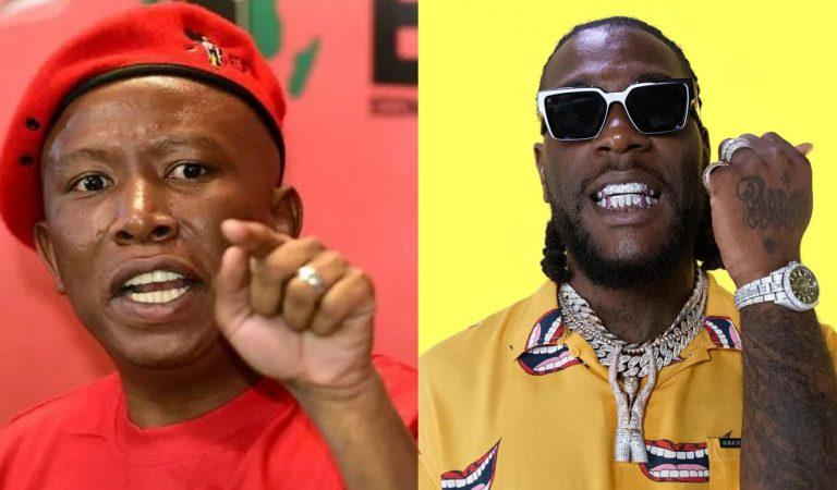 I look forward to receiving Burna Boy – South African politicial leader, Julius Malema assures Nigerian singer of his safety in South Africa