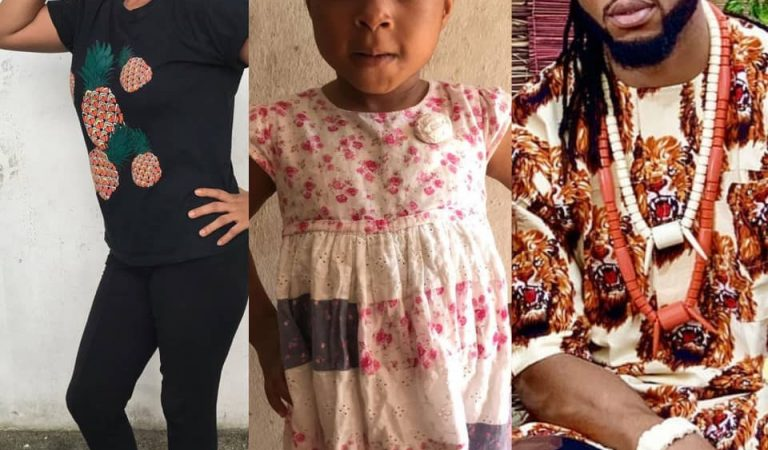 Flavour is the father of my 3-year-old child and I'm ready to pay the price if a DNA test proves otherwise – Lady calls out Singer