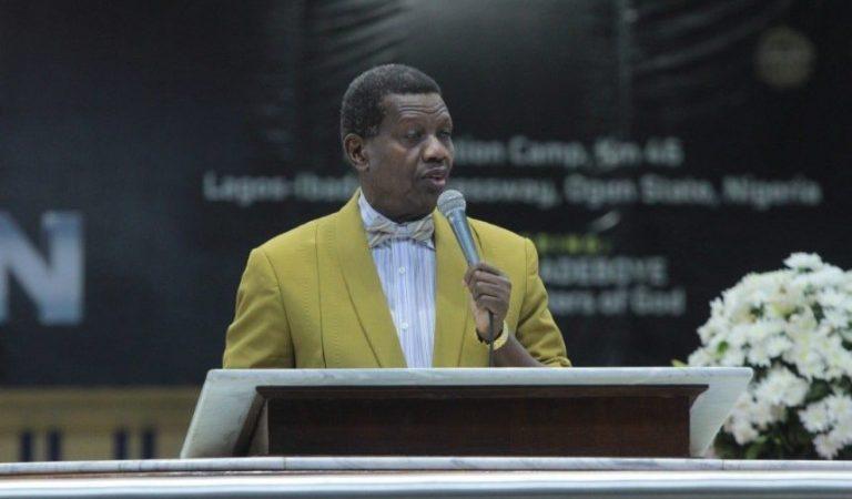 Nigerians react as Pastor Adeboye tells his 'son' to sack his secretary