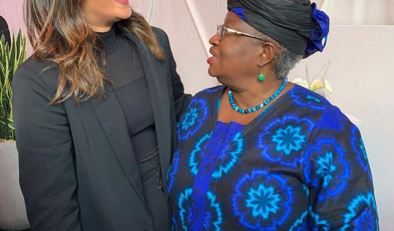 Priyanka Chopra is so Excited to Meet Ngozi Okonjo-Iweala