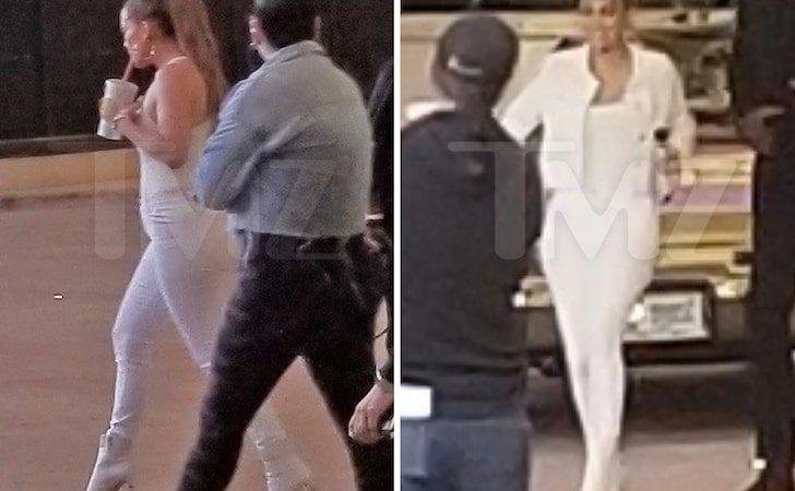 Jennifer Lopez Films Super Bowl LIV Commercial Featuring A-Rod