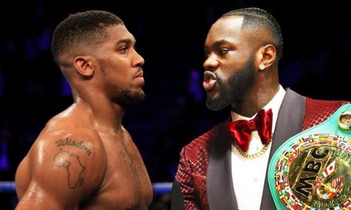 Deontay Wilder calls Anthony Joshua 'a coward' as he invites him for his celebration party after rematch with Tyson Fury