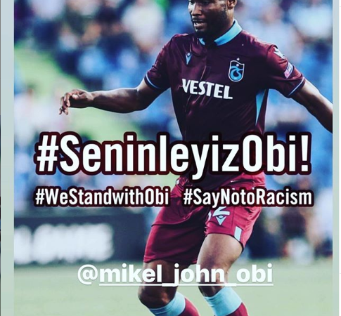 John Obi Mikel and his family 'racially abused by Fenerbahce fans' as his club take legal action