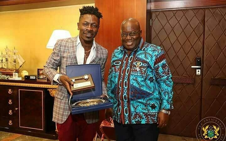 "Ghanaian President Nana Addo Congratulates Shatta Wale On His ""Black Is King"" Feature"