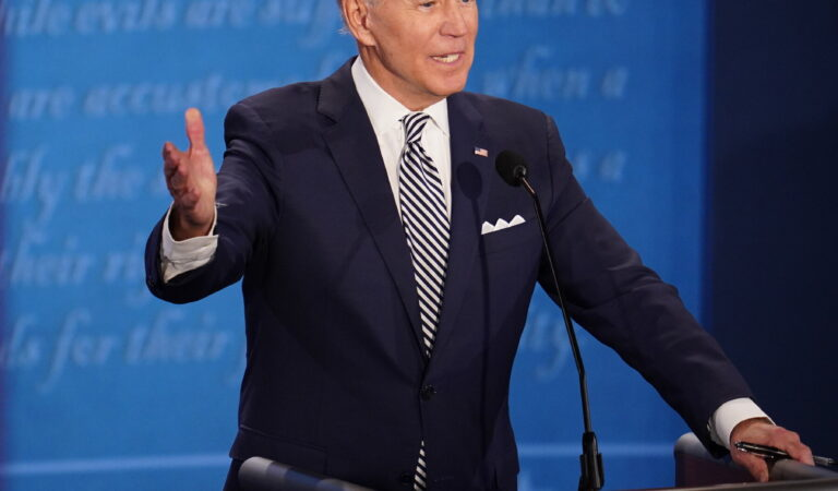 Biden Preaches Unity as Vote Counts Stall, Stops Short of Declaring Victory