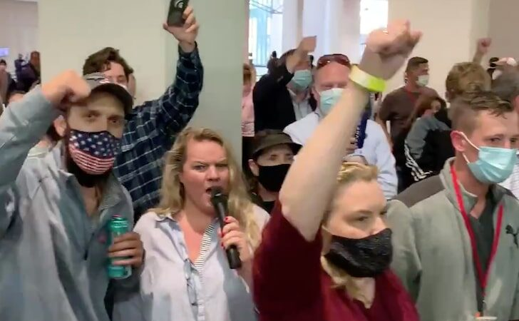 See Why Trump Supporters Wreaked Havoc at Detroit Ballot Counting Center