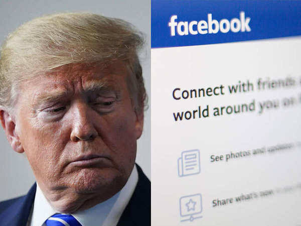 Just like Twitter, Facebook and Instagram block Trump's accounts indefinitely