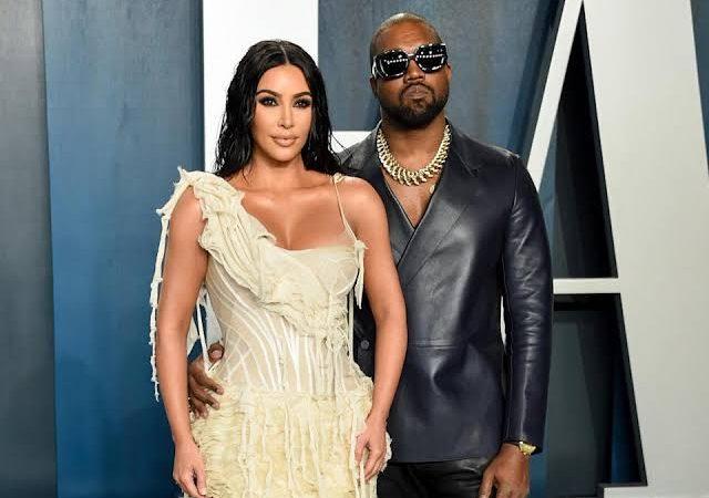 Kim Kardashian Supports Kanye West at 'Donda' Album Listening Event
